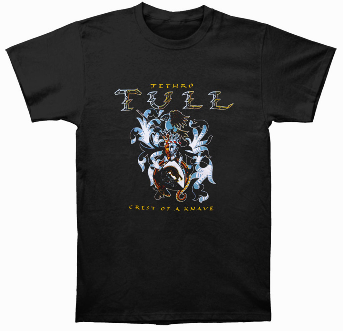 Jethro Tull T-Shirt - Crest of a Knave [BLACK]