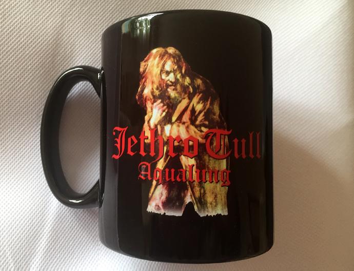 Jethro Tull Mug with Aqualung design [BLACK]