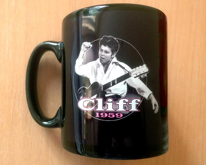 Cliff Richard Mug with Retro 1959 design
