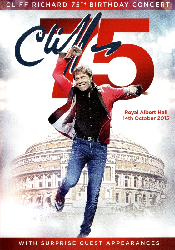 Cliff Richard 75th Birthday Concert DVD