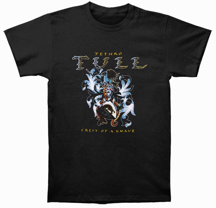 Jethro Tull T-Shirt - Crest of a Knave [BLACK] +FREE T-SHIRT!