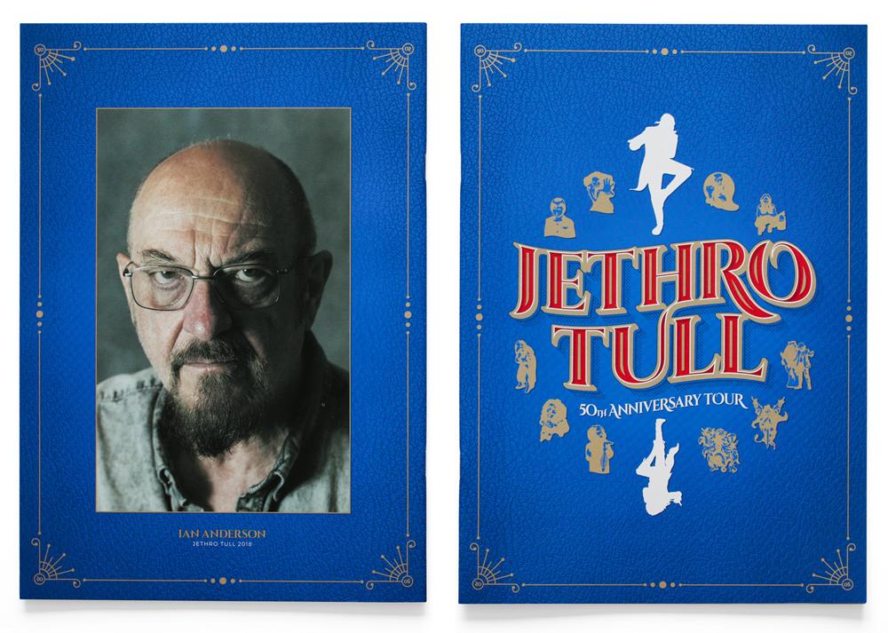 Jethro Tull 50th Anniversary Tour Brochure