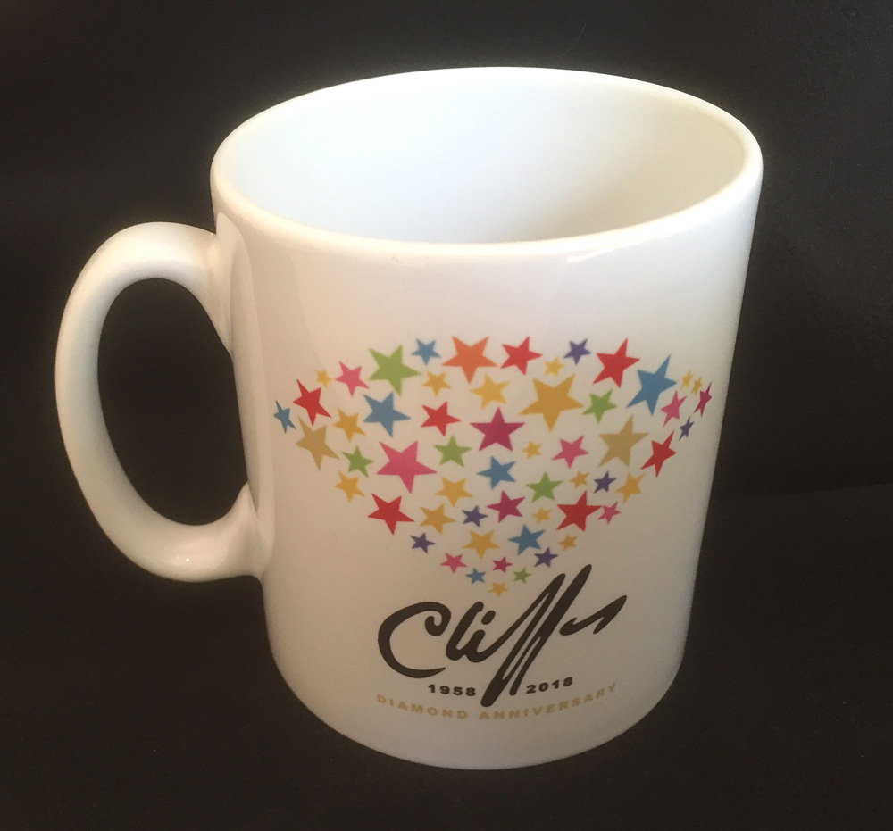 Cliff Richard Mug - 2018 Diamond Anniversary Design
