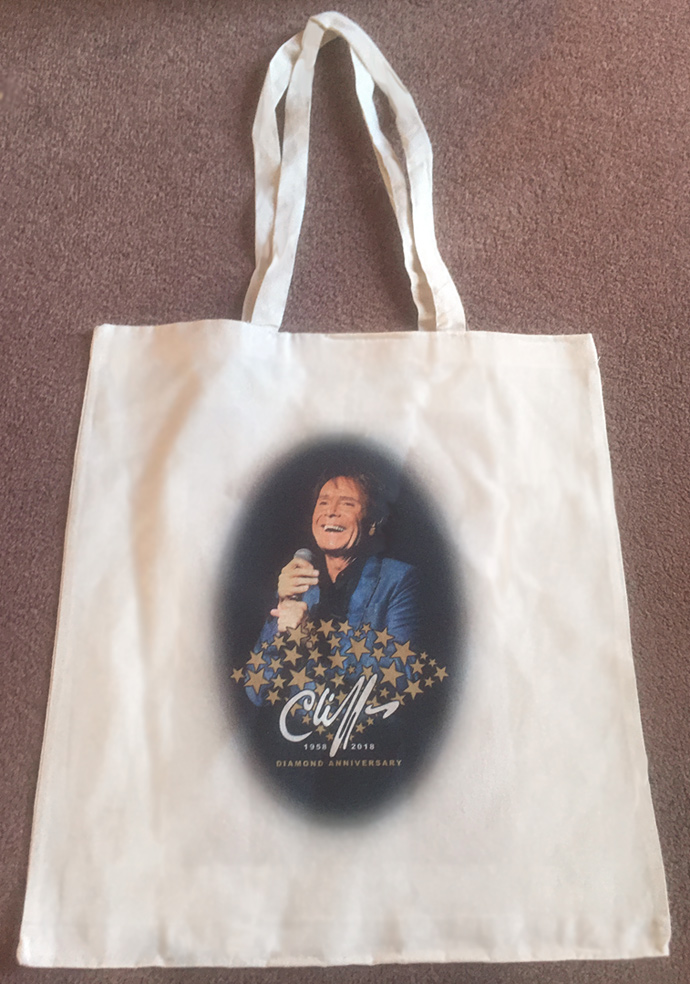 Cliff Richard Diamond Anniversary Tote Bag