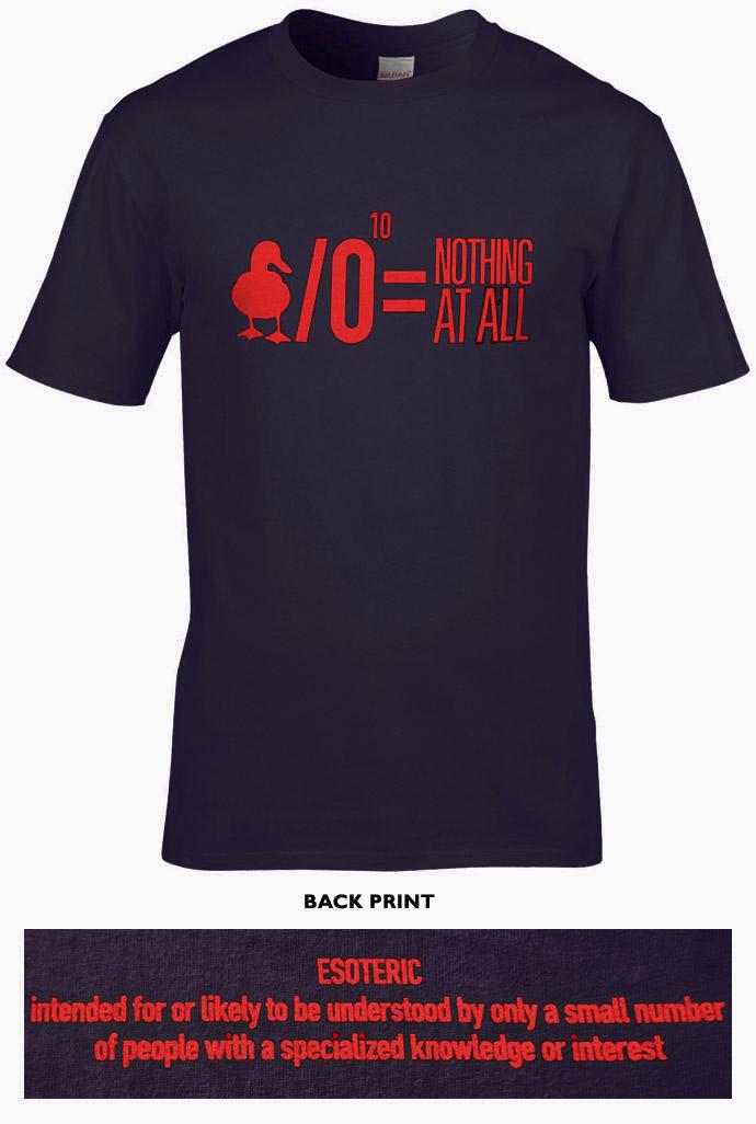 Jethro Tull T-Shirt - One White Duck [BLACK & RED]