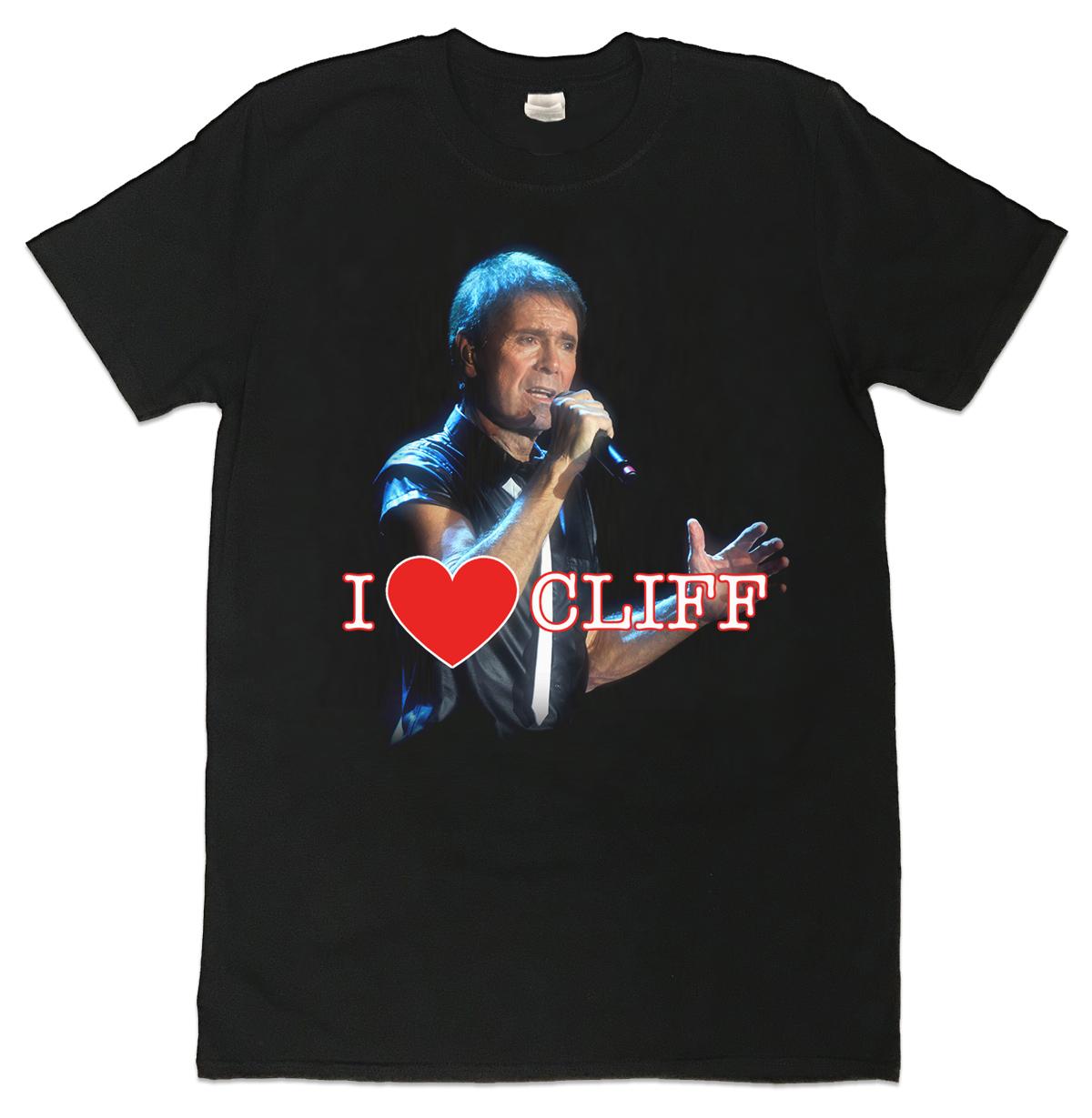 "Cliff Richard ""I Heart Cliff"" T-Shirt"