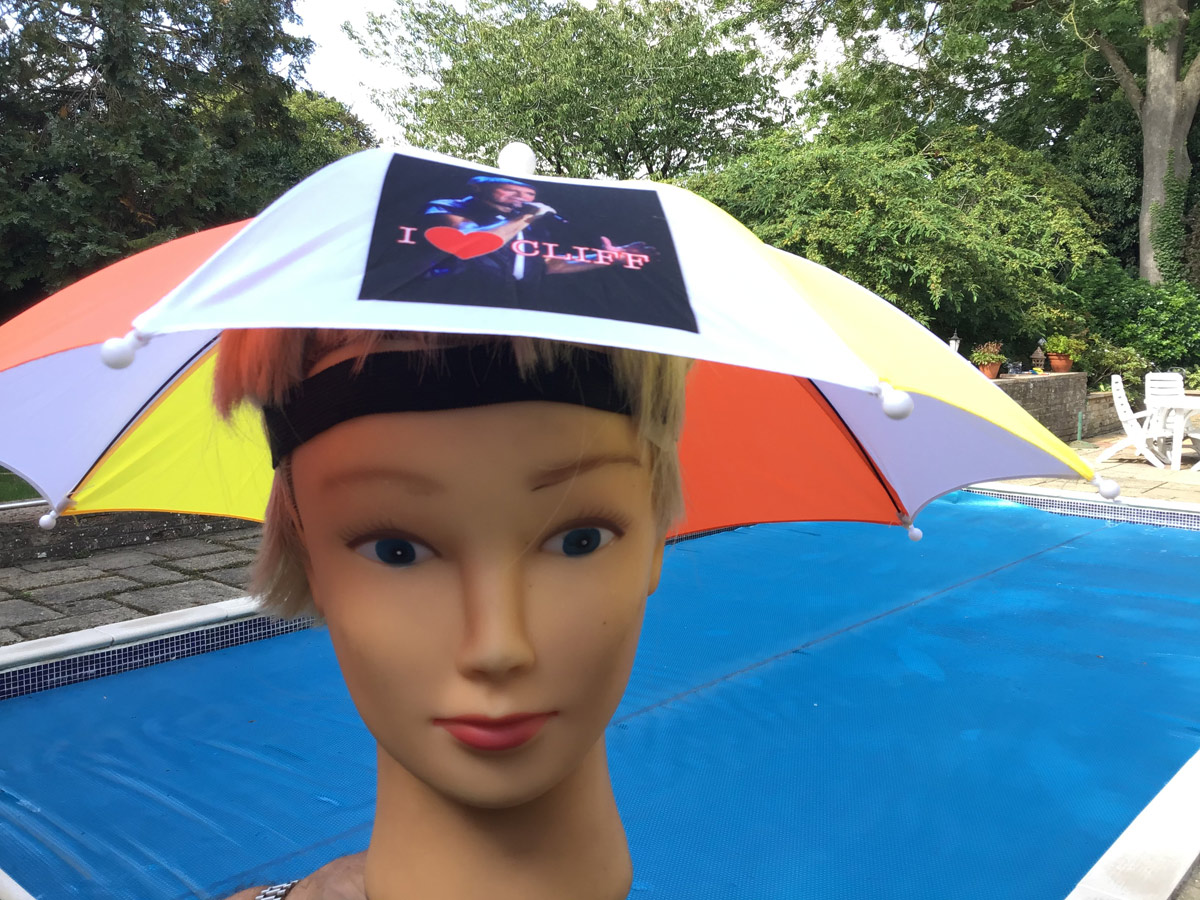 Cliff Richard Umbrella Hat - BUY 1 GET 1 FREE