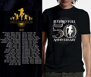 Jethro Tull T-Shirt - 50th Anniversary GLOW IN THE DARK Design 2019
