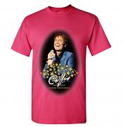"Cliff Richard ""Smile"" Diamond Anniversary T-Shirt [Heliconia Pink]"