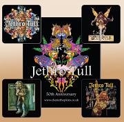 !!!NEW!! Jethro Tull Mouse Mat & 4 FREE Drinks Coasters