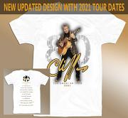 "Cliff Richard ""The Great 80"" Tour T-Shirt [WHITE]"