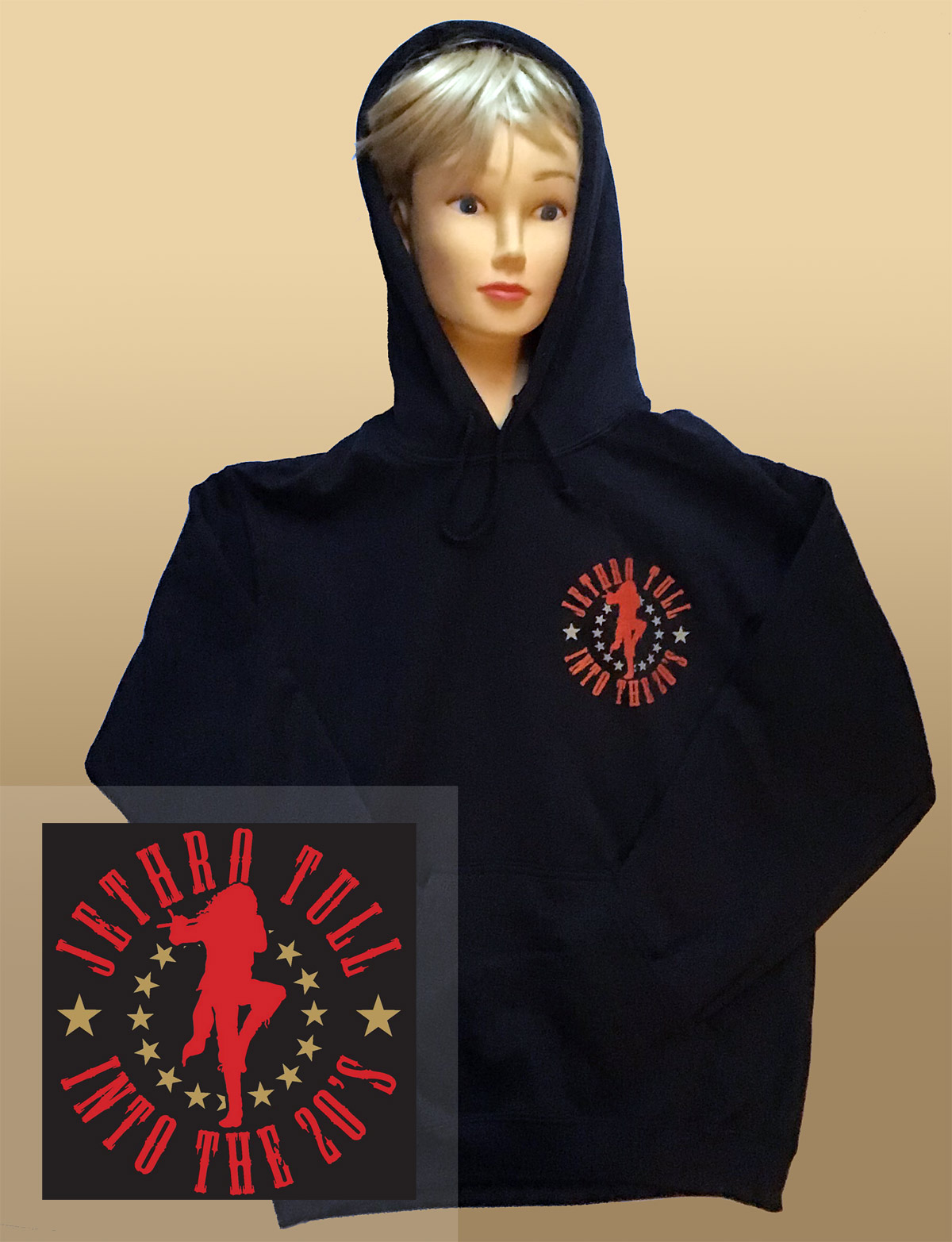 "Jethro Tull ""Into The 20's"" Hooded Top"