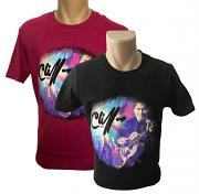 !NEW! Two Cliff Richard Guitar T-Shirts for £30 [BLACK & HELICONIA]