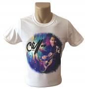 !NEW! Cliff Richard Guitar T-Shirt [WHITE]