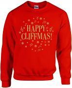 "!!NEW!! Cliff Richard 2020 ""Cliffmas"" Christmas Sweatshirt"