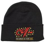 Cliff Richard Great 80 Beanie Hat [BLACK]