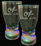 2X Cliff Richard Great 80 Multicolour Changing Beakers - SAVE £4