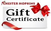 !!! Not sure what to buy your favourite Tull fan? - Chester Hopkins Gift Vouchers Now Available!