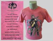 "!!NEW!! Cliff Richard ""The Great 80"" 2021 Tour T-Shirt [CORAL SILK] (WITH OPTIONAL BACKPRINT)"