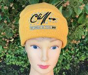 !NEW! Cliff Richard Great 80 Beanie Hat [GOLD]